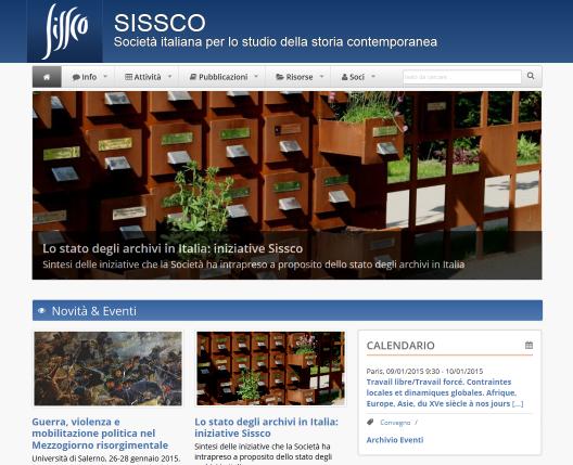 On-line il nuovo sito web di SISSCO